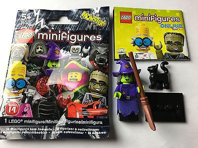 LEGO® 71010 Wacky Witch Hexe Minifigur Serie 14 Halloween Monsters New Neu  ()