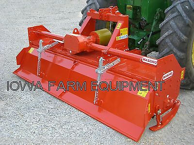 Rotary Tiller Maschio C300 123 Tractor 3-pt Pto 130hp Gearbox