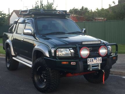 FACTORY TURBO DIESEL TOYOTA HILUX SR5 4X4 LOTS OF EXTRAS Altona North Hobsons Bay Area Preview
