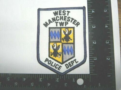 WEST MANCHESTER( YORK) , PENNSYLVANIA--POLICE-