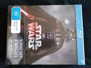 Star Wars The Complete Saga Blu-ray Set Bray Park Pine Rivers Area Preview
