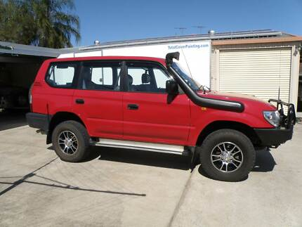 1999 Toyota Prado Wagon Brassall Ipswich City Preview