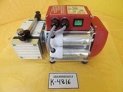 Mvp 015-2 Pfeiffer Vacuum Pk T05 100 Dry Vacuum Pump Used Tested Working