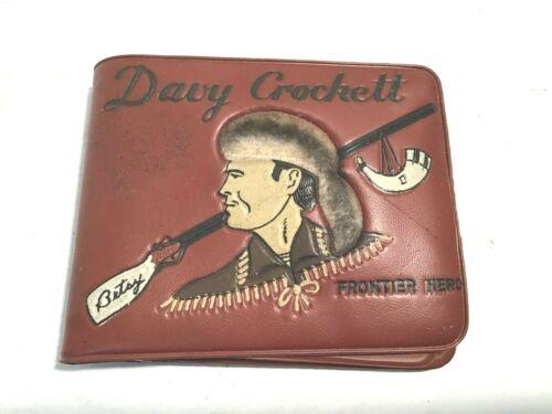VINTAGE Walt Disney Davy Crockett Frontier Hero Wallet in Very Good Condition