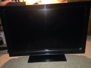 "Sony KDL-40V3000 Bravia - 40"" LCD TV (1080 Full HD) + remote"