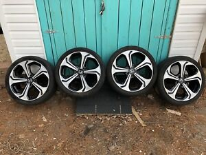 18 inch Honda rims - tire size 225/40R18