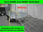 10X5 RAMP HOT DIP GALVANISED TRAILER 2000 KG GVM ON SALE NOW Dandenong South Greater Dandenong Preview