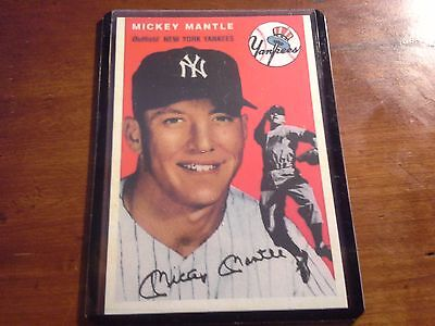 1994 U D  All Time Hero 1954 Topps Archive  259 Mickey Mantle Affordable Reprint