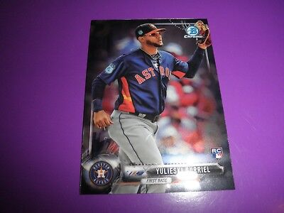 2017 Yulieski Gurriel Bowman Chrome Scarce Ssp Photo Variation    Get It Now