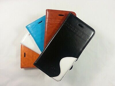 Case for iPhone 4 - 5 - 6 Phone Luxury Leather Flip Quality Card Wallet Cover