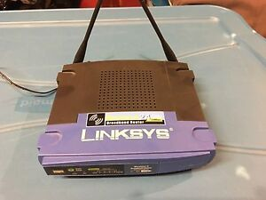 Linksys Wireless Router - works great. Dual antenna's!