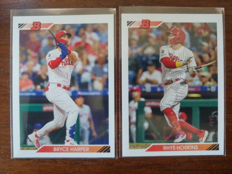 2020 Topps Archives #196 Rhys Hoskins NM-MT Philadelphia Phillies Baseball