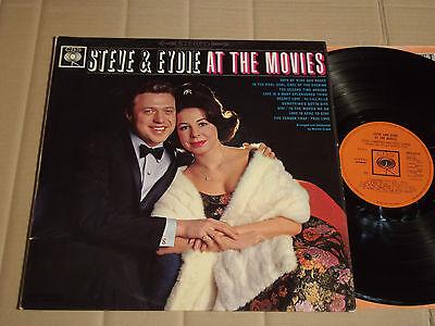 STEVE LAWRENCE & EYDIE GORME - AT THE MOVIES - LP - CBS SBPG 62151 - UK