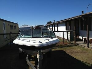 140 horse inboard/outboard(4 cylinder Chevy engine)
