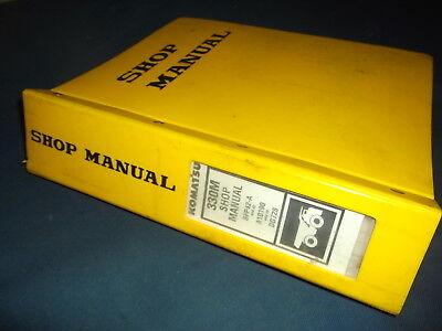 Komatsu 330m Dump Truck Service Shop Repair Book Manual Sn A10190-up Original