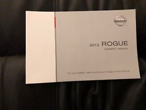 Nissan 2012 Rogue Owners Manual