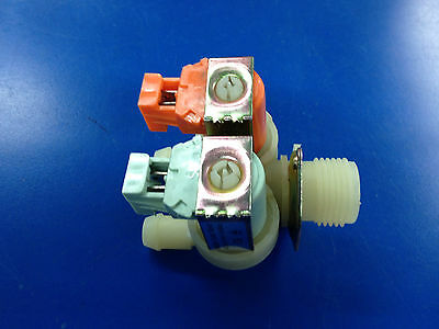 Brand New 2-way Water Valve 220v For Wascomat Washer  823554 Free Shipping