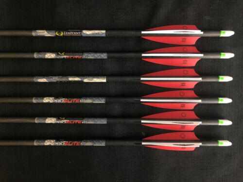 "TenPoint Pro Elite 400 20"" 6pk w/ Alpha Nock Carbon Arrow"