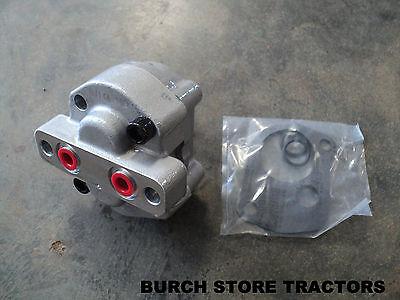 New Hydraulic Pump With Gasket For Farmall 140 130 Super A 100 Super C 200 230