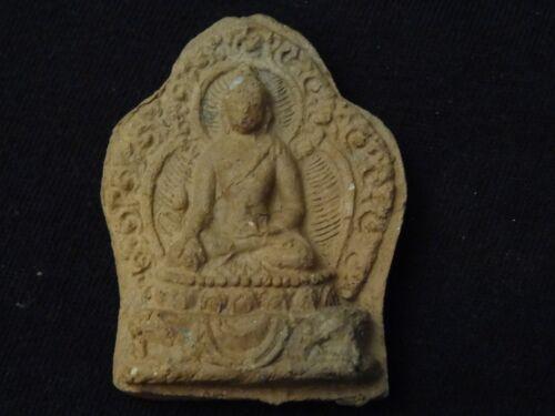 ANTIQUE  TIBET-MONGOLIAN BUDDHIST CLAY TSA TSA