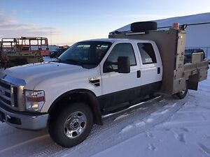 2008 Ford F-350 with aluminum survey deck