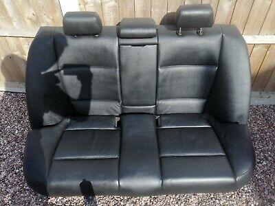Black Leather Interior Seats Msport BMW E90 Saloon 3 series 2005 - 2011 FULL SET