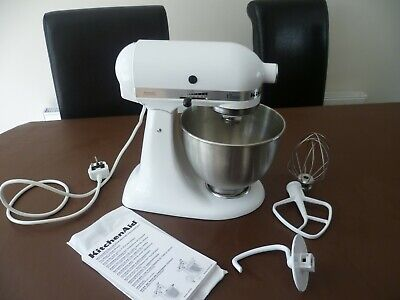 Kitchenaid 5K45SS White Classic Tilt-head Stand Mixer