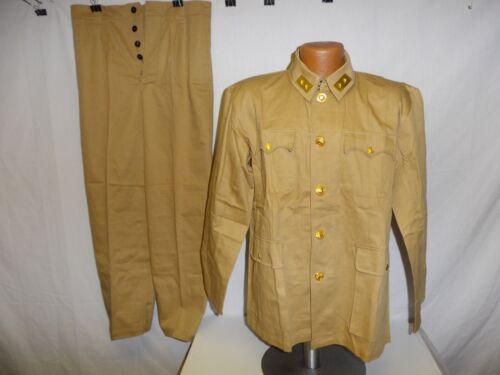 U3B-135 WW 2 National Chinese KMT Major General Army Summer Tan Cotton uniform