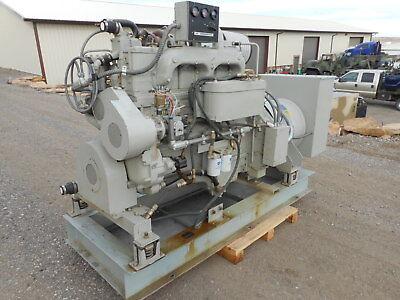 Cummins Diesel Powered 125 Kw Stationary Generator 1200 Rpm 3 Ph 120208-240 V