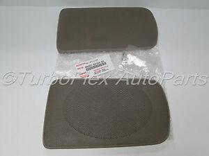 toyota camry 2002 2006 genuine oem rear speaker grill cover beige 04007 521aa e0. Black Bedroom Furniture Sets. Home Design Ideas