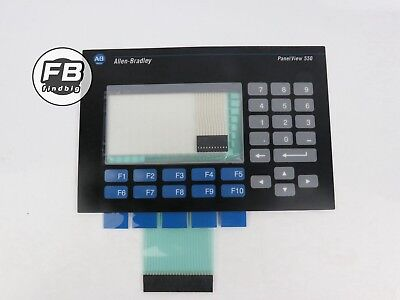 Usa Membrane Keypad Touch Screen For Allen-bradley Panelview 550 2711-b5a2