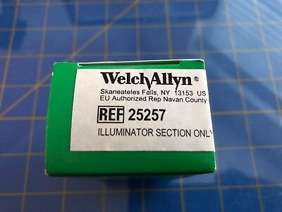 Welch-allyn 25257 03100 - Otoscope Illuminator Section And Bulb Only.