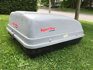 Karrite Voyager car roof top cargo carrier