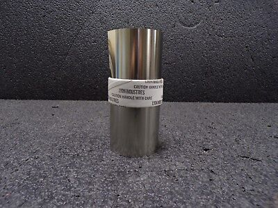 Stainless Steel Shim Stock Roll 302 Grade 0.0040 Thickness 0.0004 Thicknes