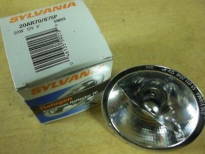 NEW Sylvania 20AR70 20W 12V 8 Degree Halogen Aluminium Reflector Lamp Bulb Halogen Aluminum Reflector Lamp