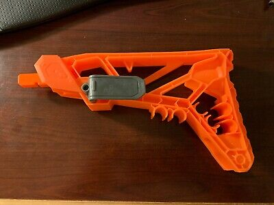 Nerf Sharpfire Shoulder Stock Orange Replacement Part For Blaster Gun