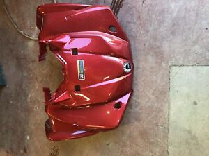2019 viper red can am 450/570 outlander atv front panel