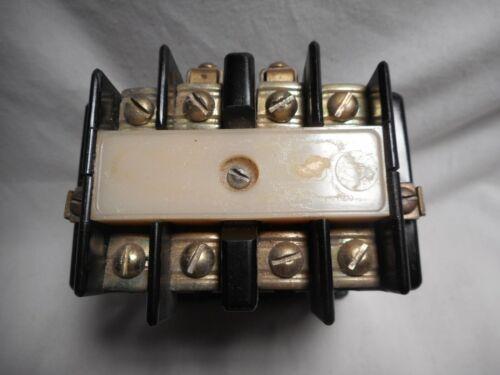 Ward Leonard 5001-3001-11 Contactor Size 1 120v coil