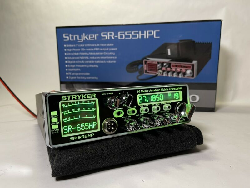 Stryker SR-655HPC Amateur Radio AM/FM 10 Meter Amateur RADIO PRO TUNED & ALIGNED