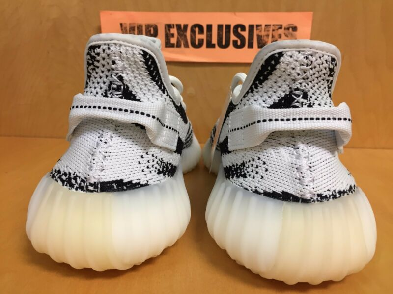 ba12d84498404 ... Adidas Yeezy 350 V2 Zebra CP9654 White Black Red SPLY Kanye West 100%  AUTHENTIC ...
