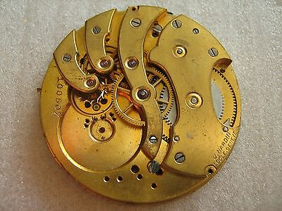 SALE!!! Ulysse Nardin pocket watch movement for parts for sale  Shipping to Nigeria