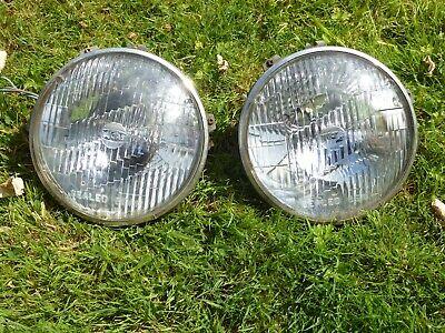"Vintage Lucas 7"" Sealed Beam Headlight  for Classic Car Morris, MG, Wolseley"