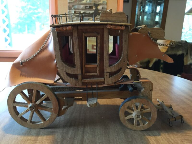 Handcrafted Mini stagecoach