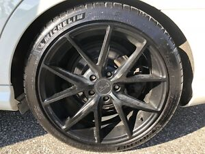 "18"" Nische rims with Michelin Pilot"
