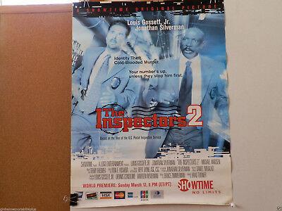 """VINTAGE (2000) MOVIE/TV POSTER: """"INSPECTORS 2"""" LOUIS GOSSETT JR (SHOWTIME)"""