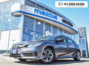 2017 Honda Civic LX|NO ACCIDENTS|FINANCE AVAILABLE|RENTAL|