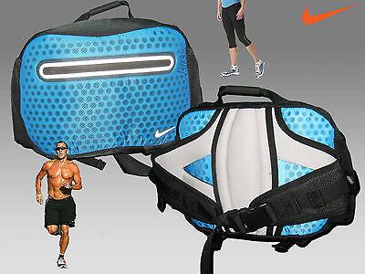 Neu Nike Cheyenne Hypervoid Laufen Vapor Taille Lenden Pack Tasche Blau Glühend