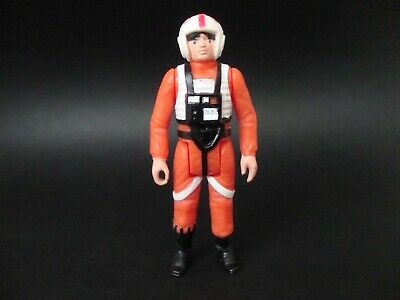 Luke Skywalker X-Wing Pilot Vintage Star Wars Figure!