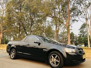 2008 Holden Commodore Utility 6Speed Manual Black Moorebank Liverpool Area Preview