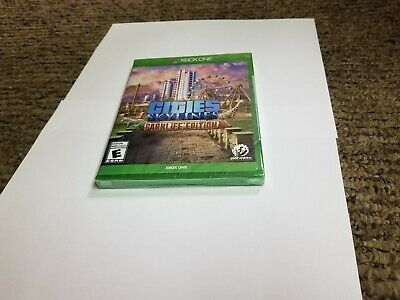 Cities Skylines Parklife Edition Xbox One  new